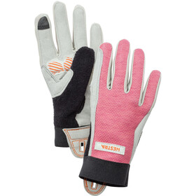 Hestra Bike Guard Gloves Jr Long Barn rosa